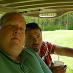 Mike & Boo...Loving Life! Golfing.... What more can you ask for?